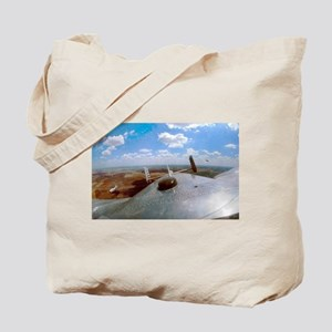 B-25 Out The Top Tote Bag