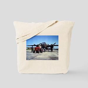 B-25 On the Ramp Tote Bag