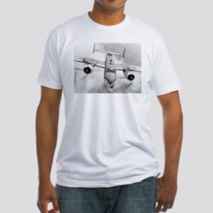 Bad Ass B-25 Fitted T-Shirt