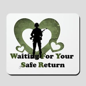 safe return Mousepad