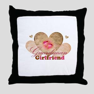 Guardsmans girlfriend Throw Pillow