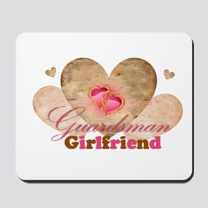 Guardsmans girlfriend Mousepad