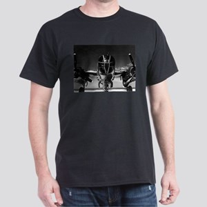 Retro B-25 Black T-Shirt
