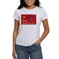Women's T-Shirt Anti Shark finning