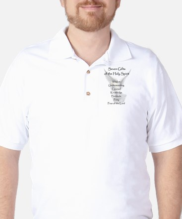 Holy Spirit Golf Shirt