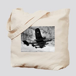 B-25s in Formation Tote Bag
