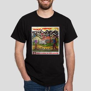 Dreaming of Hike Swiss Dark T-Shirt