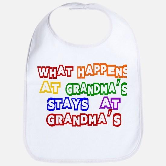What Happens at Grandma's Sta Bib