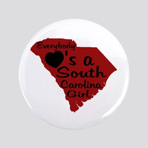"Everybody Loves a SC Girl (GB 3.5"" Button"