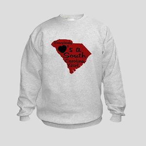 Everybody Loves a SC Girl (GB Kids Sweatshirt