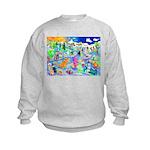 Halloween Eve, Coronado Kids Sweatshirt