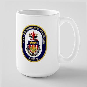 USS Bonhomme Richard LHD 6 Large Mug