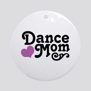Dance Mom Ornament (Round)