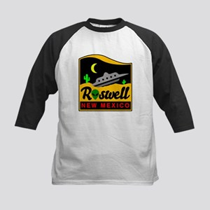 Roswell New Mexico Kids Baseball Jersey
