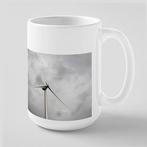 Wind Turbine Blades Large Mug