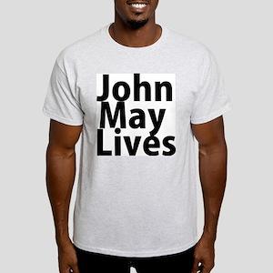 John May Lives Light T-Shirt