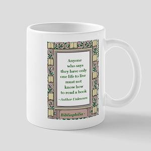 Never Read A Book Mug