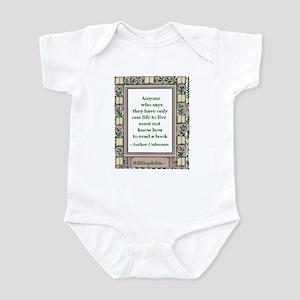 Never Read A Book Infant Bodysuit