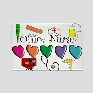 Office Nurse Rectangle Magnet