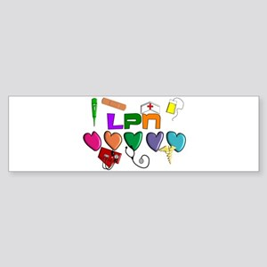 Licensed Practical Nurse Sticker (Bumper)