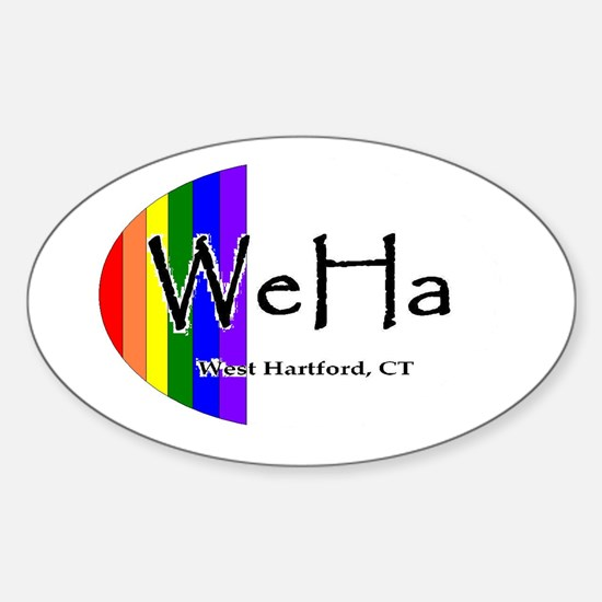 WeHa Pride Decal