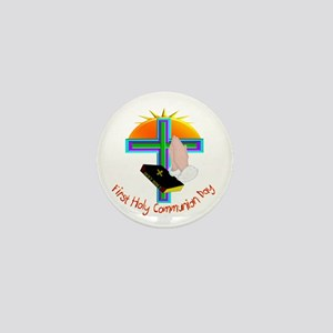 First Communion Mini Button
