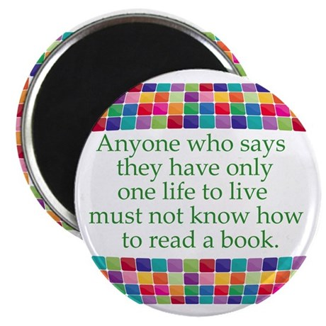 """Read A Book 2.25"""" Magnet (100 pack)"""