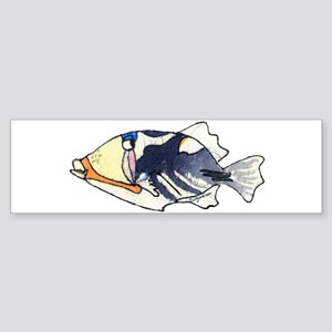 Humu Fish Sticker (Bumper)