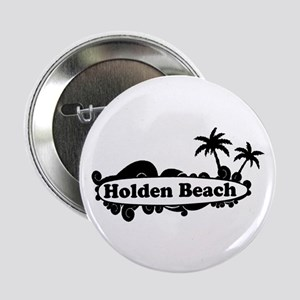 "Holden Beach NC ""Surf"" Design 2.25"" Button"