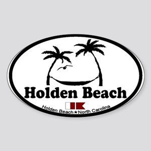 "Holden Beach NC ""Sun and Palm Trees"" Design Sticke"