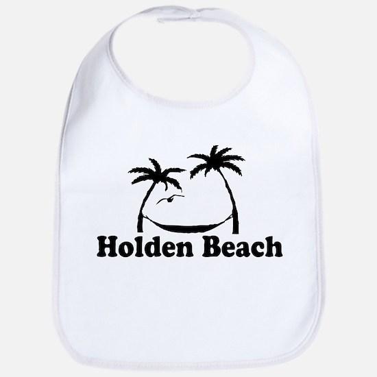 "Holden Beach NC ""Sun and Palm Trees"" Design Bib"
