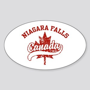 Niagara Falls Canada Sticker (Oval)