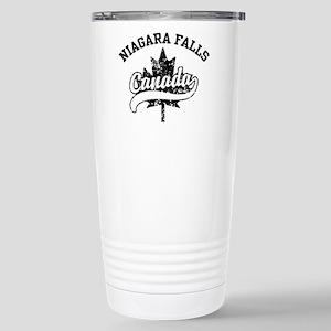 Niagara Falls Canada Stainless Steel Travel Mug
