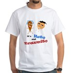 Huto and Trazmito White T-Shirt