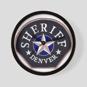 Denver Sheriff Wall Clock