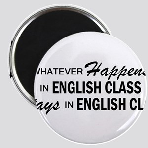 Whatever Happens - English Class Magnet