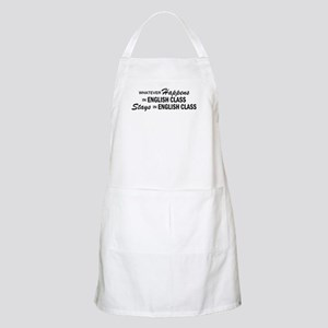 Whatever Happens - English Class Apron