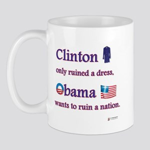 Clinton Ruined a Dress Mug