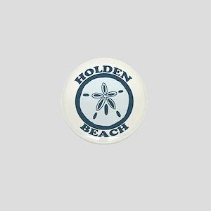 "Holden Beach NC ""Sand Dollar"" Design Mini Button"