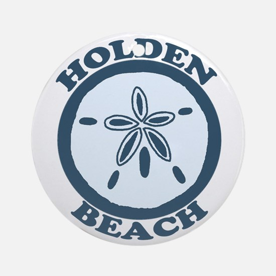 "Holden Beach NC ""Sand Dollar"" Design Ornament (Rou"
