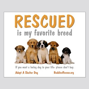 My Favorite Breed Small Poster