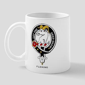 Fleming Clan Crest Badge Mug