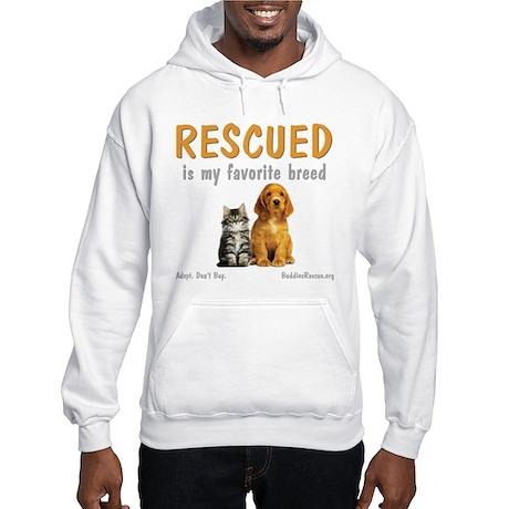 My Favorite Breed Hooded Sweatshirt