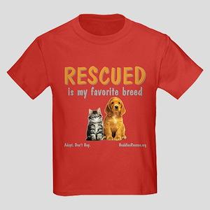 My Favorite Breed Kids Dark T-Shirt