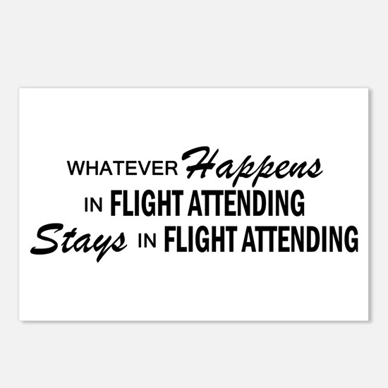 Whatever Happens - Flight Attending Postcards (Pac