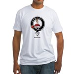 Erskine Clan Crest Badge Fitted T-Shirt
