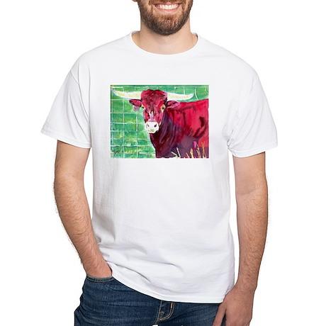 Red Bull White T-Shirt
