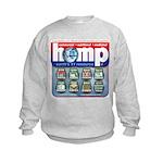 Hemp: Earth's #1 Resource Log Kids Sweatshirt