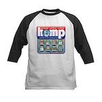 Hemp: Earth's #1 Resource Log Kids Baseball Jersey