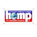 Hemp: Earth's #1 Resource Log Banner